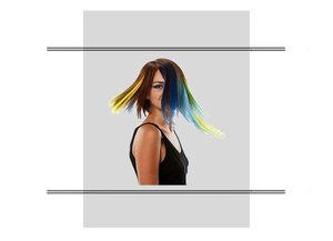 Kleurgel/ haarmascara