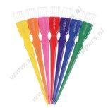 Mini verfkwasten set rainbow