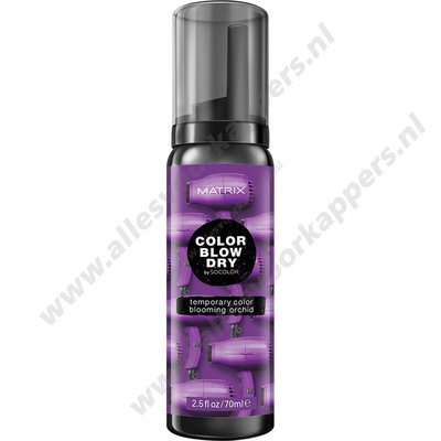Color blow dry temp color mousse 70ml blooming orchid
