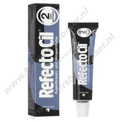 Refectocil wimperverf 15ml blauw zwart 2