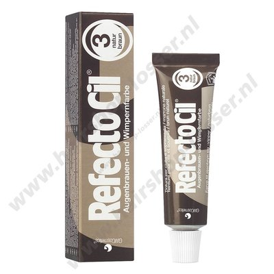 Refectocil wimperverf 15ml natuur bruin 3