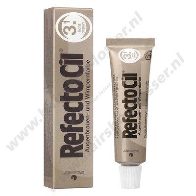 Refectocil wimperverf 15ml licht bruin 3.1