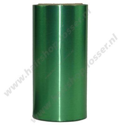 Aluminium folie 150m x 12cm 15mu groen