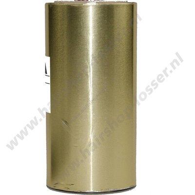 Aluminium folie 150m x 12cm 15mu goud