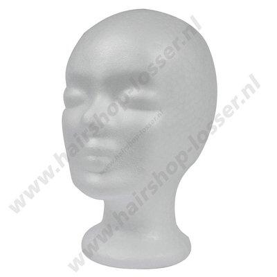 styrofoam hoofd