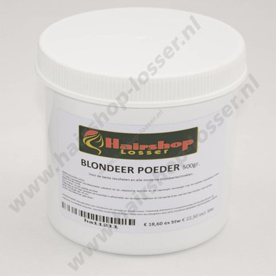 Blondeerpoeder pot 500 gram