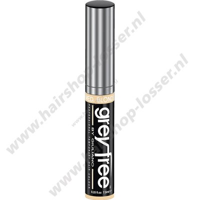 grey free haar mascara blond