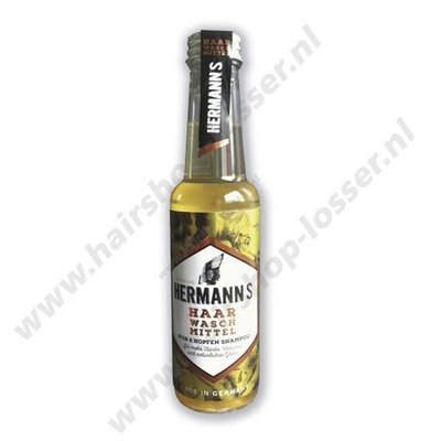 Justus Hermanns bier shampoo, volume en glans 250ml