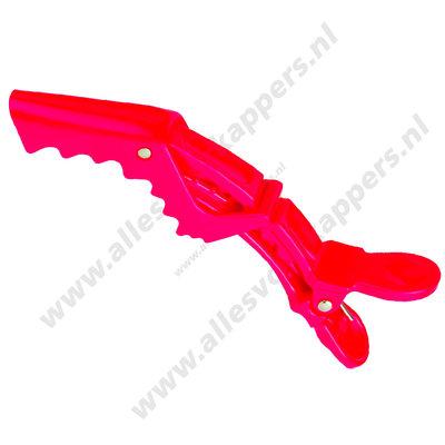 Shark clips soft rood