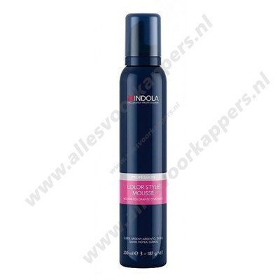 Color style mousse 200ml Rood