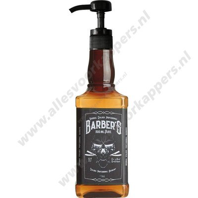 Shampoo pomp voor whiskey fles