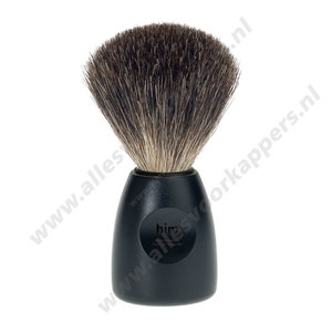 HJM scheerkwast zwart pure badger