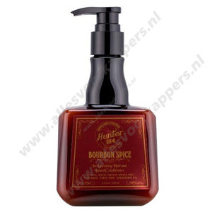 Hunter 1114 Bourbon spice hair & beard conditioner 250ml